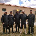 Visita de los miembros del Teagasc (Pedar y Seamus)