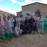 Visita de alumnos del curso de nutrición impartido en la Universidad Politécnica de Madrid provenientes de Polonia y Rumanía